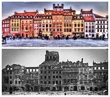 Starówka w Warszawie - 1939/2009 r.