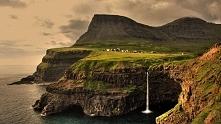 Gásadalur – wieś na wyspie ...