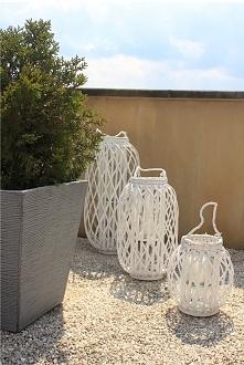Lampiony ogrodowy stały się od jakiegoś czasu modnym elementem wystroju każde...