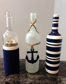 Morskie buteleczki :D