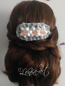 Ślubny stroik do włosów <3