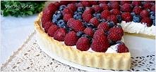 Tarta z owocami i mascarpone – przepis