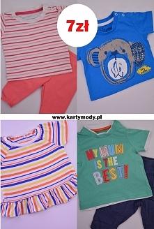 Promocja! Odzież dziecięca - bluzeczki 7 zł. Sprawdź.