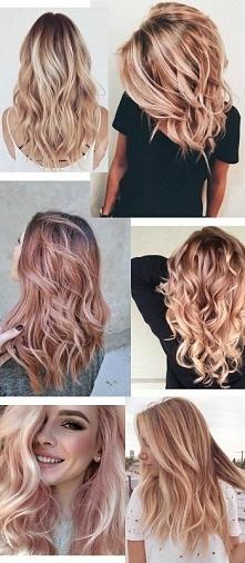 rose gold hair ;)