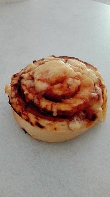 ślimaczek a'la pizza