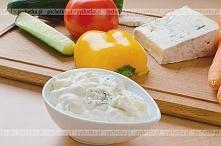 Sos z pleśniowego sera