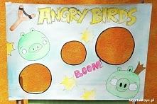 """Ciekawa alternatywa dla popularnej gry komputerowej - czyli Angry Birds w wersji """"ogródkowej"""" ;)"""