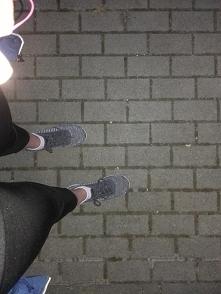 Drugi dzień biegania za mną...