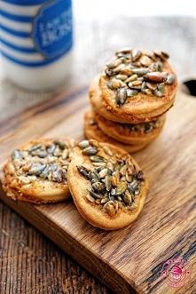 Ciasteczka z ziarnami - Wyp...