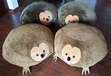 jeżowe pufy :)