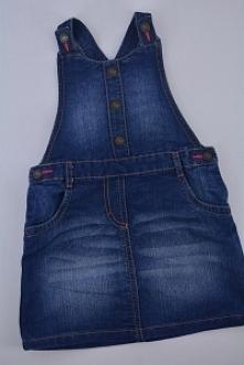 Nowa dostawa odzieży dziecięcej. Jeansowa ogrodniczka. Klik.