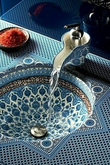 Bajeczna umywalka - powiało...