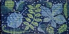 Mój jesienny batik:)