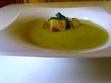 Zupa krem z cukini:)