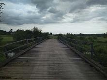 stary most nad rzeką Orzyc
