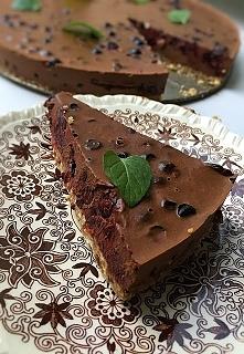 czekoladowo-jagodowe