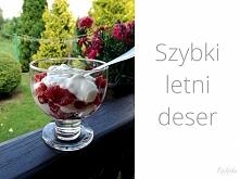 Zdrowy, lekki deser bez cukru. Bardzo szybki w wykonaniu i pyszny :).