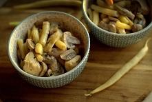 Potrawka z fasolki szparagowej. Link z przepisem w komentarzu