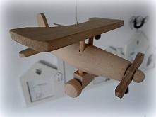 Samolot drewniany do samodzielnego sklejania