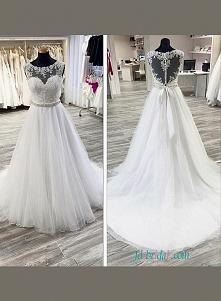 Piękna suknia ślubna