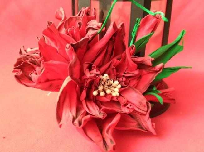 róże foamiran