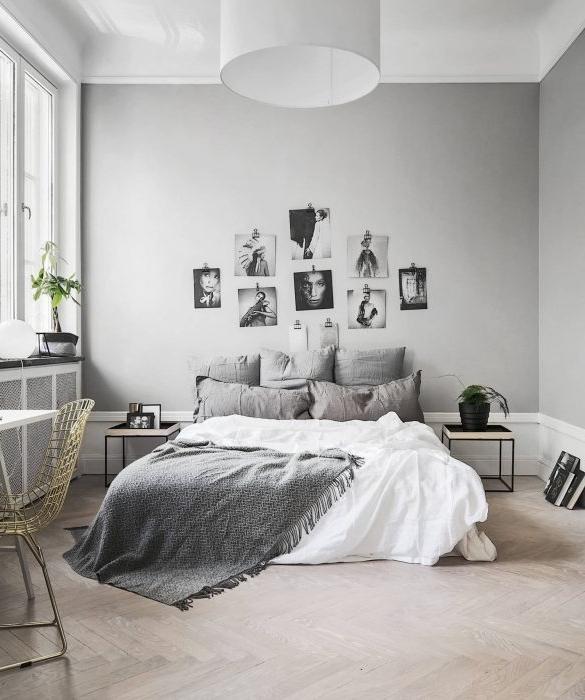 Zdjęcia w sypialni... Source: StylingBolaget