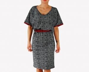 sukienka dzianinowa -  dostępna w pełnej rozmiarówce