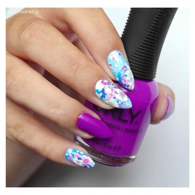 Piękny manicure:)