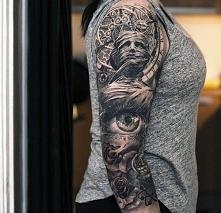 tatuaże damskie 3d na ręce