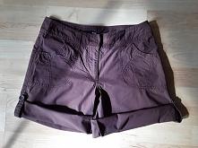 Shorty regulowane rozmiar 36 H&M 10 zł kolor brąz obwód w pasie 76 cm  sz...