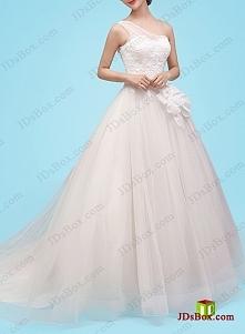 Jedna księżniczka suknia śl...