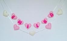 Ręcznie szyte filcowe girlandy do kupienia na fb: Moni Handmade lub IG: @recz...