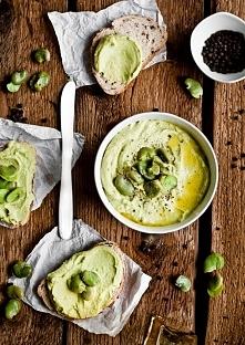 Hummus z bobu - pychotka! :)