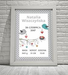 Nowe wzory metryczek można znaleźć na sklep.neinka.pl. Zapraszam serdecznie