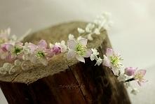 kwiaty jabłoni- gałązki do ...