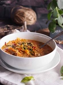 Zupa z młodych warzyw / Young vegetable soup
