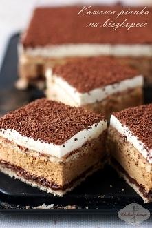 Ciasto kawowa pianka