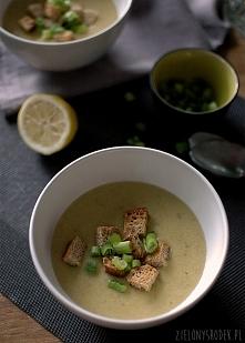 zupa krem z ziemniaków z zi...