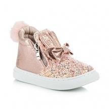 Brokatowe sneakersy króliczki :)