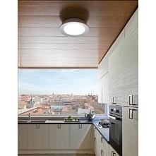 Plafon CONUS LED to designerska nowość producenta Linea Light.  Oprawa na pew...