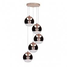 Lampa sufitowa GINO - dostępna w =mlamp=  Prezentowane oświetlenie to pięknie prezentujący się plafon, który swój okazały wygląd zawdzięcza formie kaskady. Lampa posiada pięć źr...