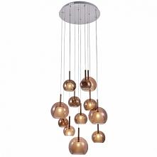 Lampa wisząca BELLEZIA - dostępna w =mlamp=  Prezentowana lampa to oświetlenie o bardzo efektownym wyglądzie w formie kaskady. Lampa posiada dwanaście źródeł światła w okrągłym ...