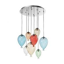 CLOWN SP8 100944 IDEAL LUX LAMPA WISZCA KOLOR  Bardzo nowoczesna lampa wiszaca wykonana ze szkła. Unikalny kształt i prostota sprawia,że lampa pasuje do wielu nowoczesnych wnętrz.