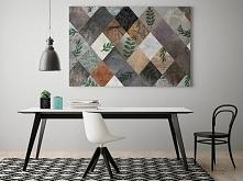 Lewa karo - nowoczesny obraz do salonu