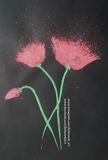 Maki ;)  Jakie są wasze ulubione kwiaty ? ;) Może jakieś propozycje , które kwiaty mogę narysować ? Czekam na komentarze ;)