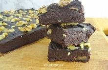 Zdrowe brownie daktylowo-or...