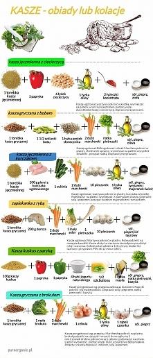 dietetyczne pomysły na obiad z kaszy