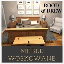 Łóżko z litego drewna sosnowego. Meble tani i solidne !!  Zapraszamy na stron...