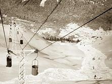 Zdjęcie zostało zrobione w Andalo! :D W 1961 otwarto pierwsze 2 wyciągi...  P...