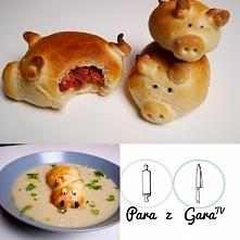 Przepis na pyszne świnki faszerowane mozzarellą i chorizo najdziecie na moim ...